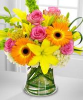 The Color-Splash Bouquet