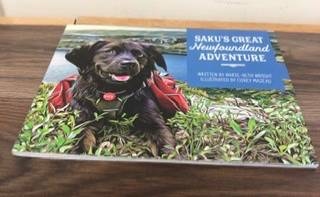 Saku's Great Newfoundland Adventure NL books