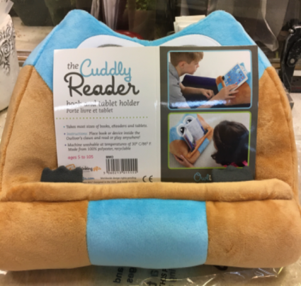 The Cuddly Reader Blue Gift Item