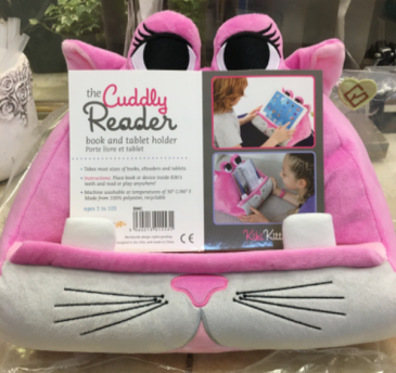 The Cuddly Reader Pink  Gift Item