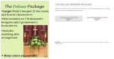 The Deluxe Package Wedding
