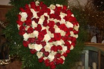 The Elegance of Roses Heart