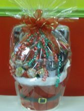 The Elite Christmas K-Cup Basket Christmas Goodies & K-Cup Gift Basket