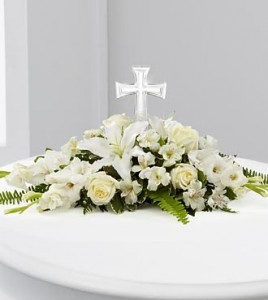 The Eternal Light Bouquet Flower Arrangement in Canon City, CO | TOUCH OF LOVE FLORIST AND WEDDINGS