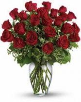 The Fabulous roses two dozen of  roses- color choice red pink or white