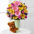 The Festive Big Hug Vase Arrangement