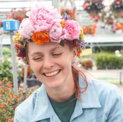 The Flower Crown Hairpiece