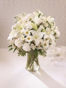 The FTD Angel Wings Vase Arrangement