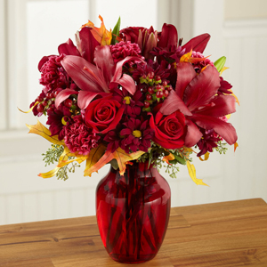 The FTD® Autumn Treasures™ Bouquet   in Valley City, OH | HILL HAVEN FLORIST & GREENHOUSE
