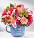 Purple Heart Iris Vase
