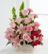 The FTD® Beautiful Spirit™ Arrangement Funeral Flowers