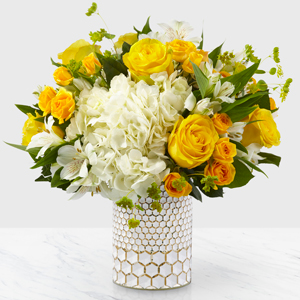 The FTD Bees Knees Boquet Vase Arrangement