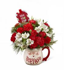 The FTD Believe Mug Bouquet