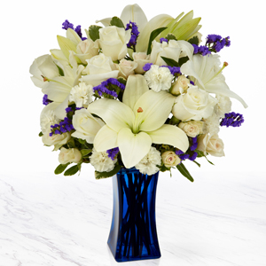 The FTD® Beyond Blue™ Bouquet   in Valley City, OH | HILL HAVEN FLORIST & GREENHOUSE