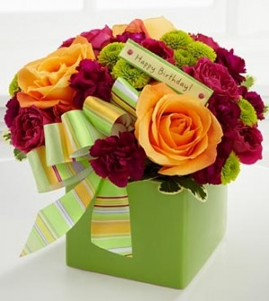 The FTD® Birthday Bouquet  in Springfield, IL | FLOWERS BY MARY LOU INC