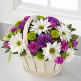 The FTD® Blooming Bounty™ Basket Arrangement