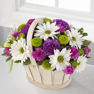 The FTD® Blooming Bounty™ Basket Arrangement