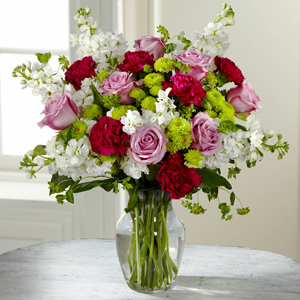 The FTD® Blooming Embrace™ Bouquet   in Valley City, OH | HILL HAVEN FLORIST & GREENHOUSE