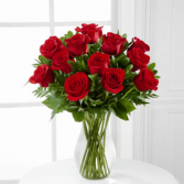 The FTD® Blooming Masterpiece™ Rose Bouquet Bouquet - VASE INCLUDED