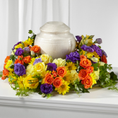 The FTD Blossoms of Remembrance Cremation Adornmen Cremation Adornment