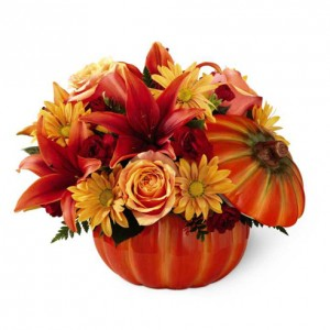 The FTD® Bountiful™ Bouquet Fall Arrangement