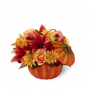 The FTD Bountiful Bouquet Pumpkin Arrangement