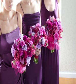 THE FTD® BRIDESMAID'S GARDEN™ BOUQUET W13-5059 Bridal Party Bouquets