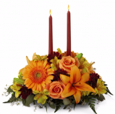 The FTD® Bright Autumn™ Centerpiece  Thanksgiving