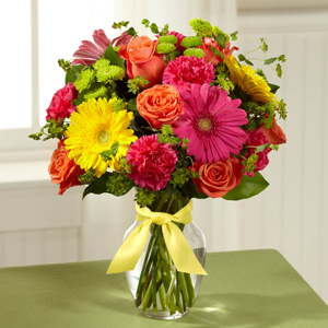 The FTD® Bright Days Ahead™ Bouquet   in Valley City, OH | HILL HAVEN FLORIST & GREENHOUSE