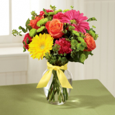 The FTD® Bright Days Ahead™ Bouquet - VASE INCLUDED