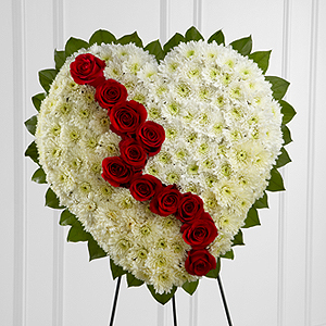 The FTD® Broken Heart™ Heart Arrangement