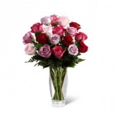 The FTD Captivating Colour Rose Bouquet 15-V9