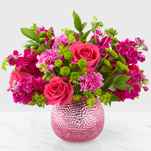 The FTD Cherry Blossom Boquet Vase Arrangement