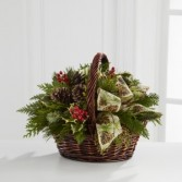 The FTD Christmas Coziness Bouquet
