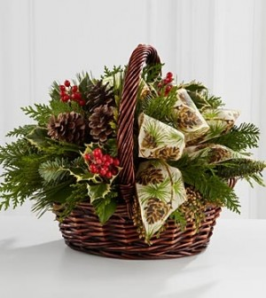 The FTD® Christmas Coziness™ Bouquet  in Springfield, IL | FLOWERS BY MARY LOU INC