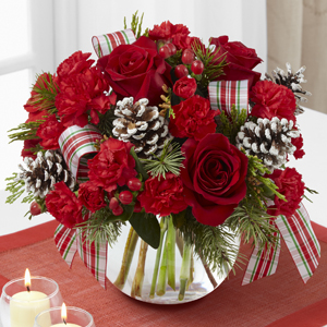 The FTD® Christmas Peace™ Bouquet VASE INCLUDED