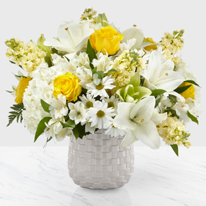 The FTD Comfort and Grace Bouquet  Vase Arrangement