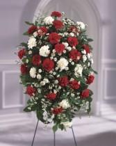 The FTD Crimson & White Standing Spray Standing Spray #2