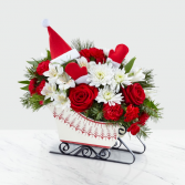 The FTD® Dashing Through the Snow Bouquet