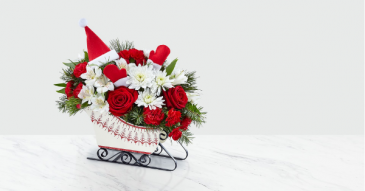 The FTD® Dashing Through the Snow Bouquet – Deluxe