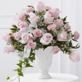 The FTD Deepest Sympathy Arrangement Vase Arrangement
