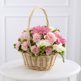 The FTD® Enduring Peace™ Basket Basket Arrangement