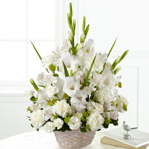 The FTD Eternal Affection Arrangement Basket Arrangement