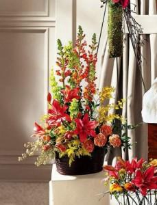 The FTD Eternal Friendship Arrangement Funeral Flowers