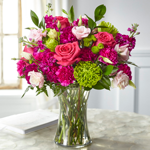 The FTD Everlasting Embrace Bouquet Vase Arrangement