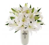 The FTD® Faithful Blessings™ Bouquet - VASE INCLUD
