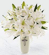 The FTD® Faithful Blessings Sympathy Arrangement