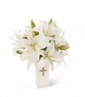 The FTD Faithful Blessings Vase Bouquet