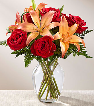 The FTD® Fall Fire™ Bouquet Fall flowers