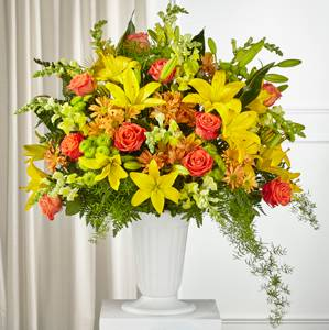 The FTD Fall Sentiments Arrangement  Vase Arrangement